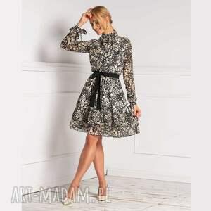 wyjątkowy prezent, sukienka alia mini medison, mini, ze stójką
