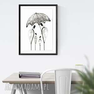 obraz 30x40 cm wykonany ręcznie, plakat, abstrakcja, elegancki minimalizm, do