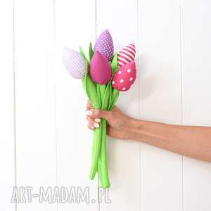 Bukiet tulipanów, tulipany, kwiaty, kwiatki, tulipan, bawełniany
