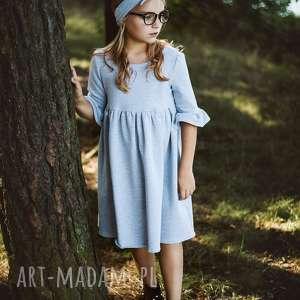 latori - sukienka dziewczęca mama i córka ld51/3, sukienka, dzianinowa