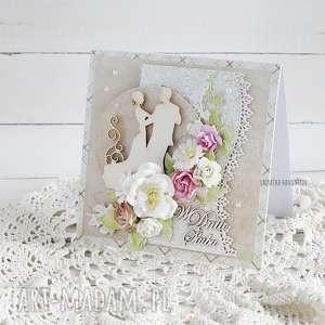 Kartka ślubna w pudełku, 421 - ,ślub,wesele,kartka,