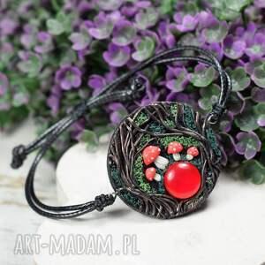 bransoletka magic forest - muchomory, kolorowa