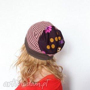 Prezent damska sportowa biegowa , czapka, paski, bieganie, wiosna, mama, prezent