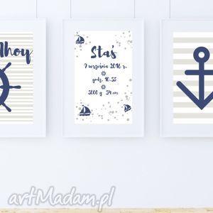 zestaw obrazkÓw ahoy metryczka a4 - metryka, metryczka, kotwica, pirat, ahoy, marynarz
