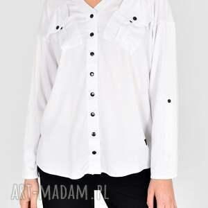 hand made bluzki koszula gaja biała