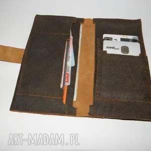 handmade portfele portfel - skóra naturalna
