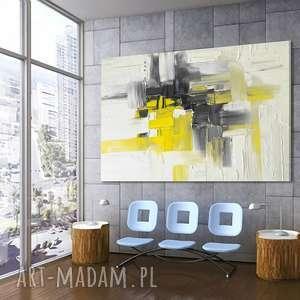 hand made dekoracje duży nowoczesny obraz do salonu