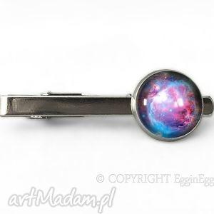 hand made męska nebula - spinka do krawata