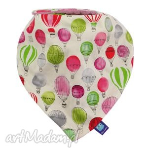 apaszka, wzór balony, baloniki, chustka, balon