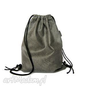 handmade plecak / worek zamszowy elephant