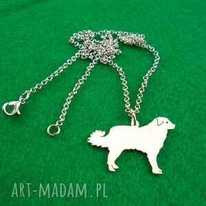 naszyjniki naszyjnik owczarek kaukaski pies nr 79, naszyjnik, pies, rasy-psów