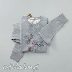 dandelions bluza z nadrukiem, sweatshirt, nadruk ubrania