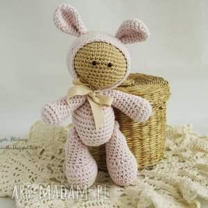 vairatka handmade przytulanka - w kapturku króliczka, maskotka, przytulanka, zabawka