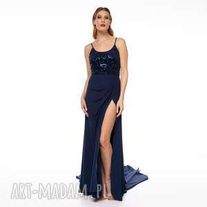 Suknia malasia sukienki pawel kuzik gala, tren, studniówka