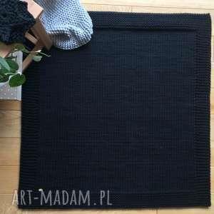 Dywan w ramie 100x100 cm, dywan, zesznurka, ekologiczny, bawełniany, klasyczny