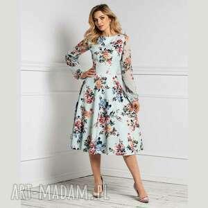 Sukienka aniela total midi melania sukienki livia clue na wiosnę