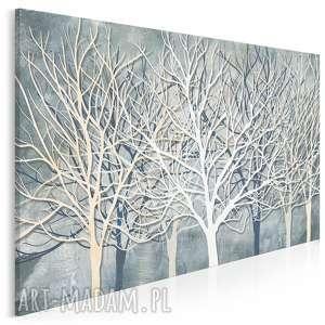obraz na płótnie - drzewa gałęzie natura 120x80 cm 77801, drzewo