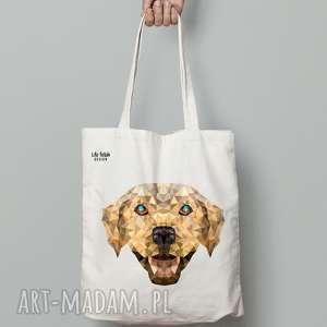 torebki torba bawełniana z psem, pies, labrador, torba, bawełna, ekologiczna