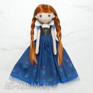 ręcznie robione lalki lalka stylizowana na księżniczkę annę frozen