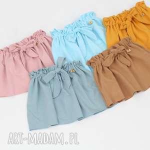 spodniczka wiazana 35 kolorow, spodnica, wiazana, dresowa