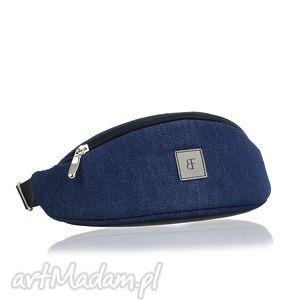 nerka / saszetka junior 236 jeansowa, nerka, saszetka, junior, dziecięca
