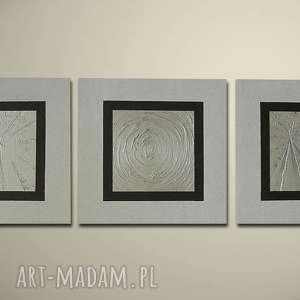 ręcznie malowany nowoczesny 19 - 150x50cm obraz, recznie