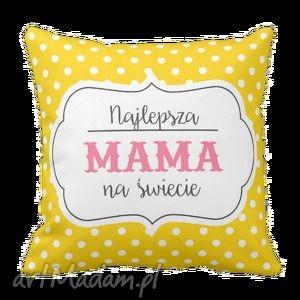 poduszki poduszka najlepsza mama na świecie dzień matki 6249, dom