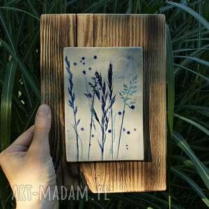 obrazek trawy, obrazek, obraz, trawy polne, obraz na drewnie
