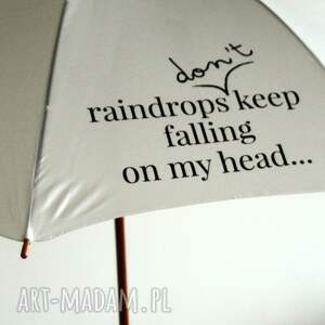 handmade parasole parasol raindrops don t keep falling on