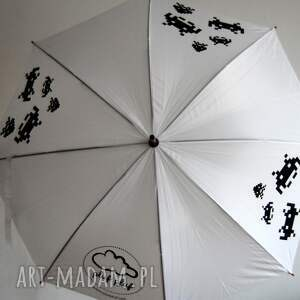 parasole parasolka space invaders parasol długi