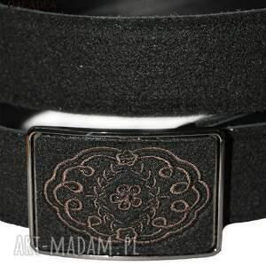 atrakcyjne paski pasek haft koronki na klamrze filcowego