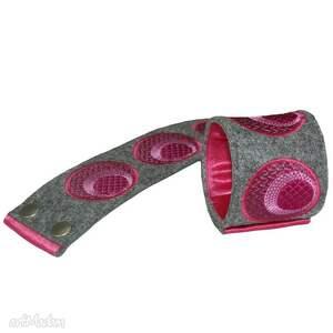 frapujące paski haft pas i bransoleta z elementów