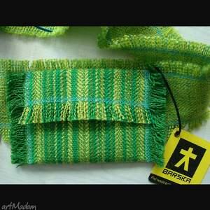 paski pas zielony z kieszeniami:)