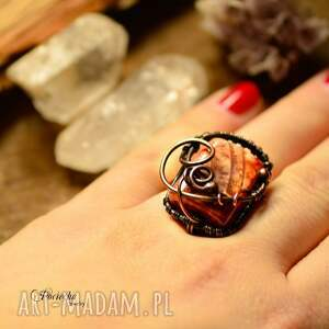 niesztampowe pierścionki pierścionek adrahil- duży