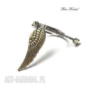 srebrne pierścionki srebro angel vol. 2 - pierścionek