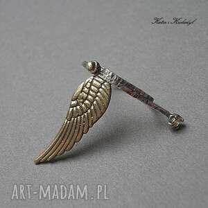nietuzinkowe pierścionki cyrkonia angel vol. 2 - pierścionek