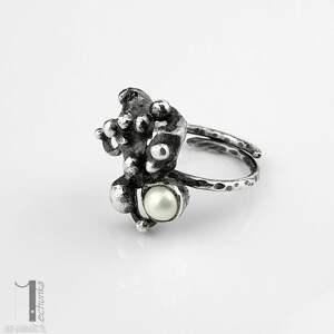 szare pierścionki pierścionek-srebrny anthozoa - srebrny pierścionek