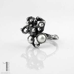 wyjątkowe pierścionki pierścionek-srebrny anthozoa - srebrny pierścionek