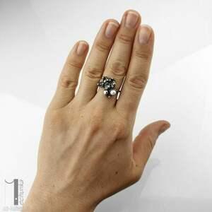 pierścionek-srebrny pierścionki anthozoa - srebrny pierścionek