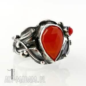 unikatowe pierścionki srebro aurantia srebrny pierścionek