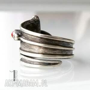 pierścionki prezent biedroneczki są w kropeczki i to