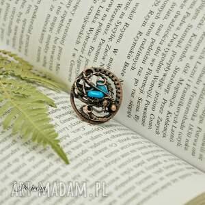 retro piękny duży pierścionek wykonany od podstaw