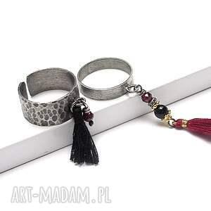 pierścionki srebro boho /trok/ - pierścionek