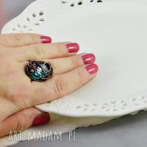upominki na święta pierścionek regulowa crystal