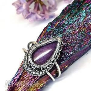 eleganckie pierścionki pierścionek czaroit
