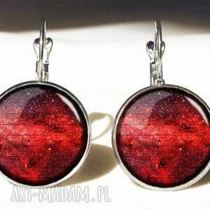 oryginalne pierścionki pierścionek czerwona nebula