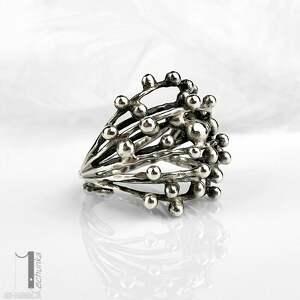 unikatowe pierścionki pierścionek-regulowany danu - srebrny pierścień