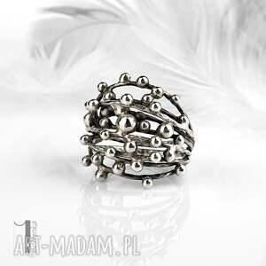 pierścionki metaloplastyka-srebro danu - srebrny pierścień