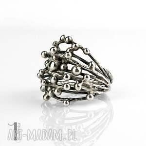 szare pierścionki pierścionek-srebrny danu - srebrny pierścień