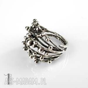 unikatowe pierścionki pierścionek-srebrny danu - srebrny pierścień